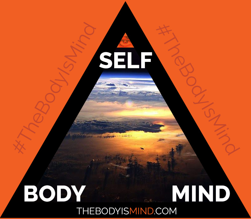 TheBodyIsMind Self, Body, Mind Triangle