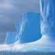 This image of antarctic glacier cliffs is used as is used for the header of the Ultimate Healing Guide article on Cold Therapy - TheBodyIsMind
