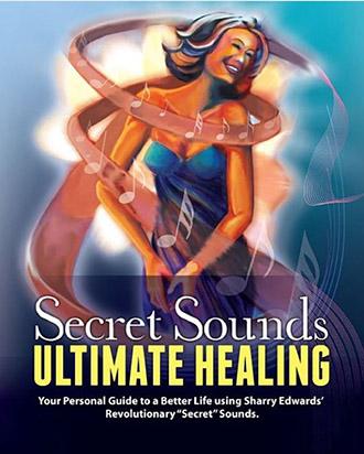 Sharry Edward's revolutionary secret sounds ultimate healing book cover image