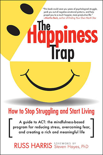 Russ Harris - The Happiness Trap Book Cover